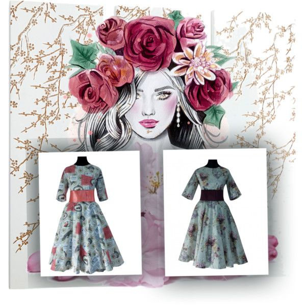 moda vintage by petits-rois on Polyvore featuring moda and vintage