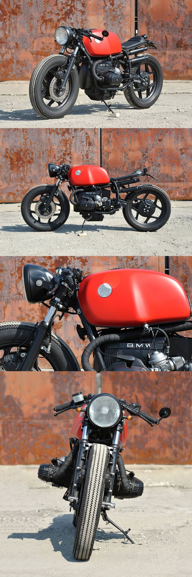Red Iron - 1986 #BMW R65 by Moto Di Ferro