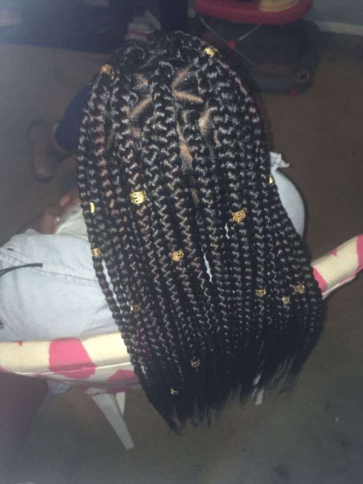 Jumbo Box Braids Box Braids Styling Braids With Weave