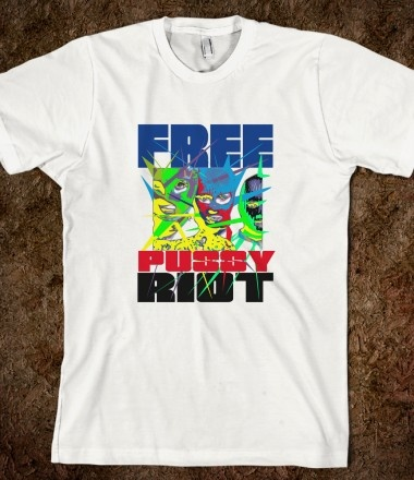 FREE PUSSY RIOT 3