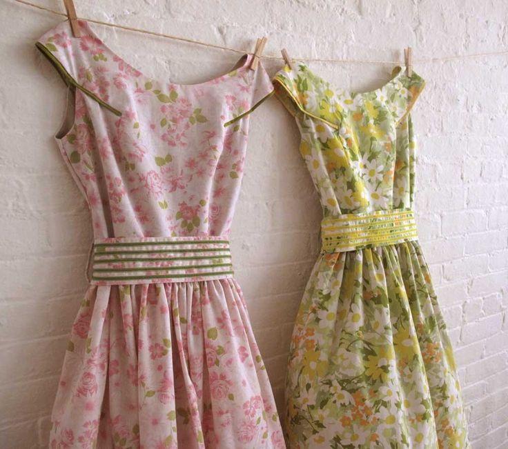 pretty dresses: Vintage Floral Dresses, Pretty Dresses, Sewing, Pink Vintage, Vintage Dresses, Vintage Style Dresses, Tea Dresses, Sweet Dresses, Vintage Inspired