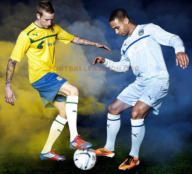 Coventry City PUMA 2012/13 Home and Away Kits - Sports et équipements - Foot - Puma