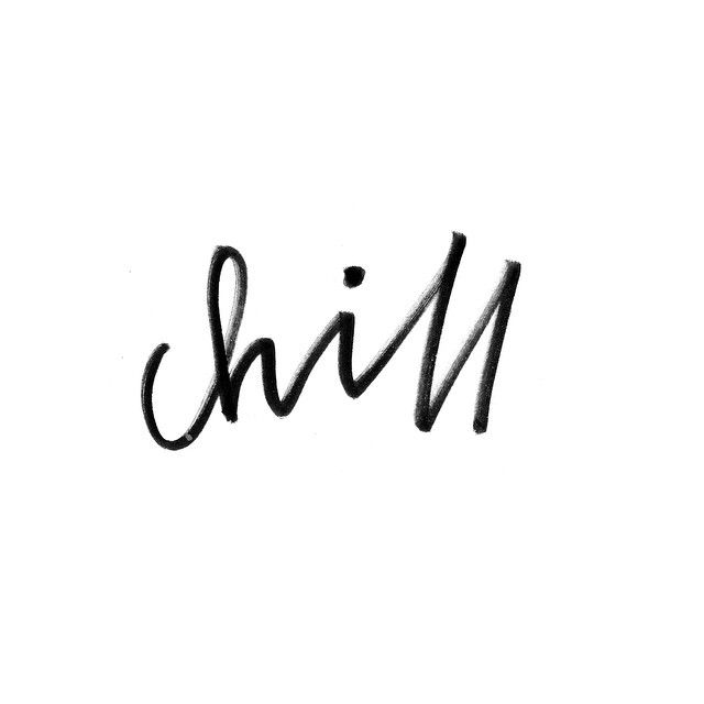 Sometimes you just need to chill...