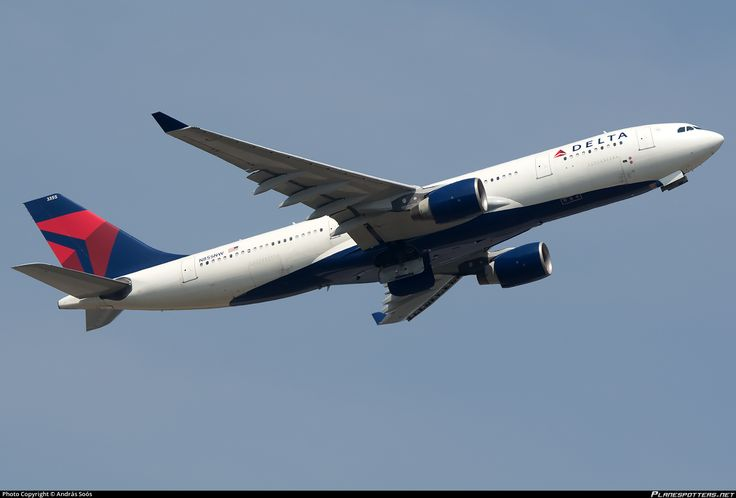 N855NW Delta Air Lines Airbus A330-223