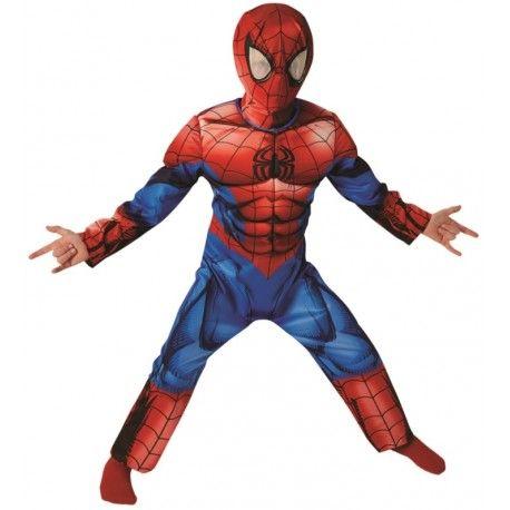 Déguisement Spiderman Ultimate™ garçon luxe (musclé)