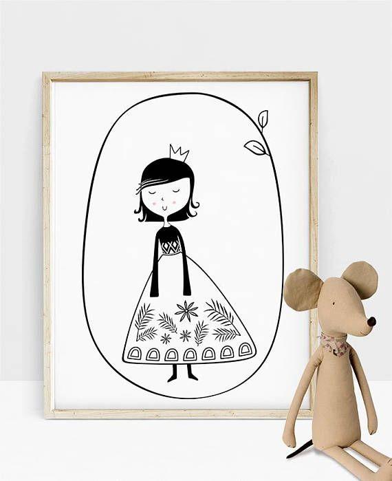 Nursery Room Decor Baby Girl Nursery Print Printable