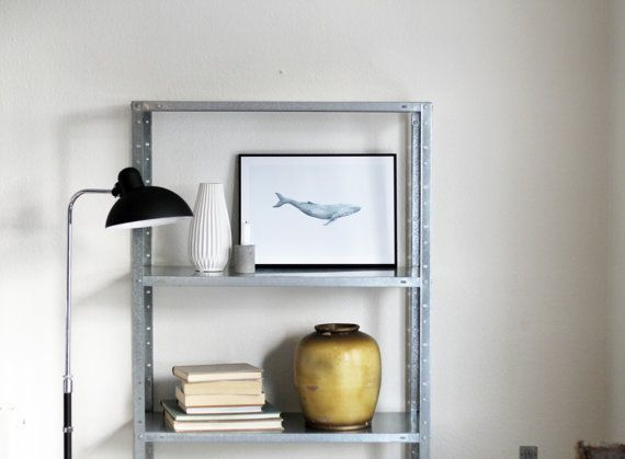Humpback Whale poster A3 by NORDSTER on Etsy