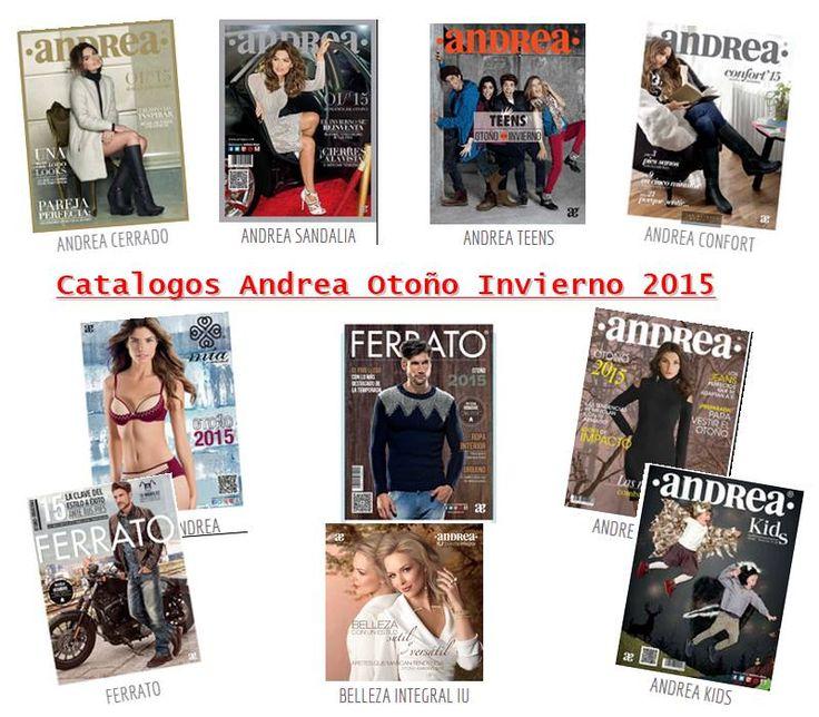 Catalogos Andrea Otoño - Invierno 2015 Mexico