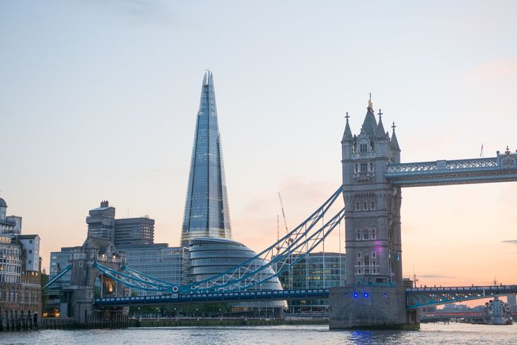 Sunset Shard and Tower Bridge