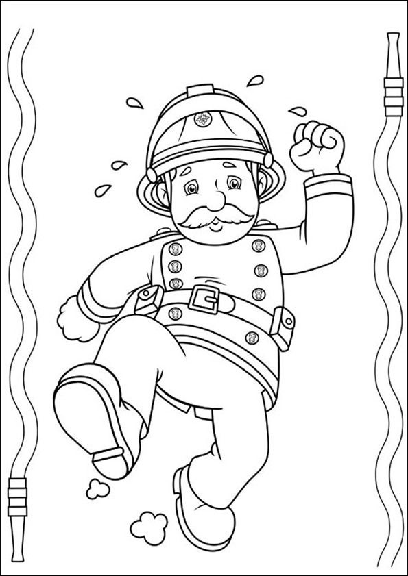Feuerwehrmann Sam Zum Ausmalen 17 Party Coloring Pages Coloring