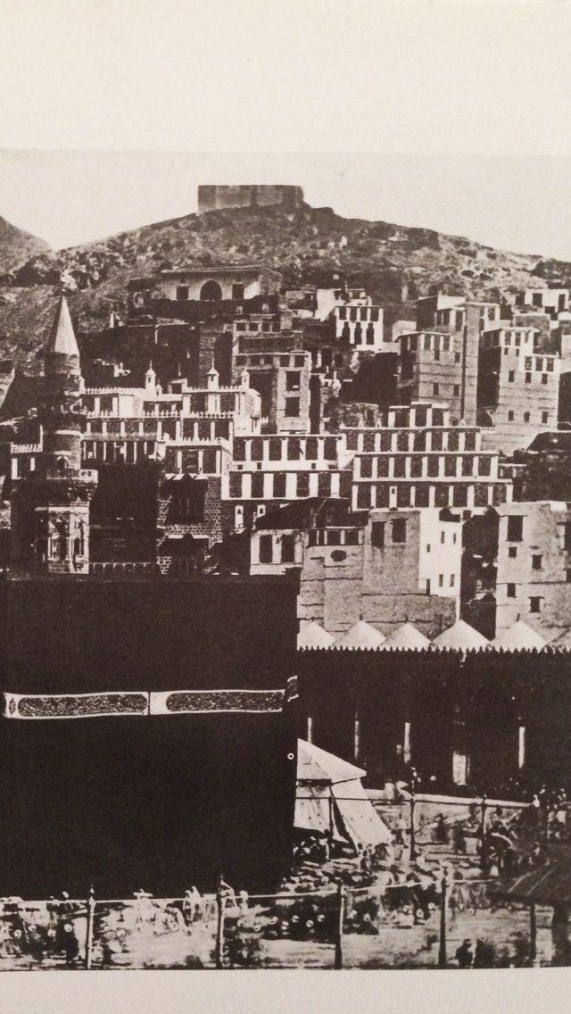 بيوت أهالي مكة حول الحرم الشريف , مكة - المملكة العربية السعودية  Macca - Saudi Arabia ✨