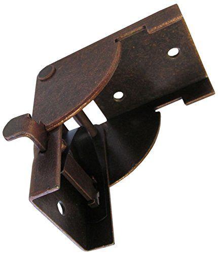 D.H.S. Posi-Lock Folding Leg Bracket for Wall Mounted Work Bench / Fold Down Table (2 pcs.) Dugan Hardware Systems