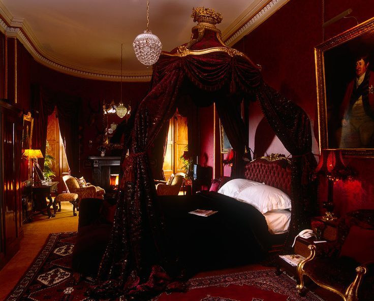 Image Result For Burgundy Bedroom