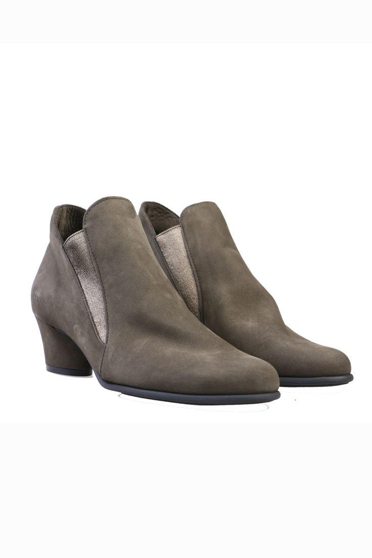 Arche - The Musc Nubuck Boot In Castor