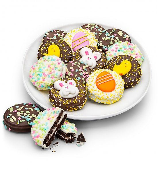56 easter pinterest happy easter chocolate enrobed oreos best easter hostess gifts negle Gallery