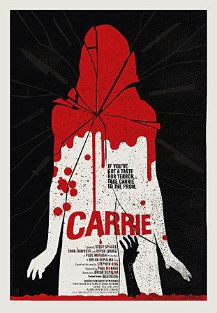 Carrie au bal du diable : On est vraiment touché par Sissy Spacek, DEPALMA a su comment mettre son oeil derrière la caméra. La mère de Carrie dans le film ( Mimi Rogers ) fait vraiment flippé !!