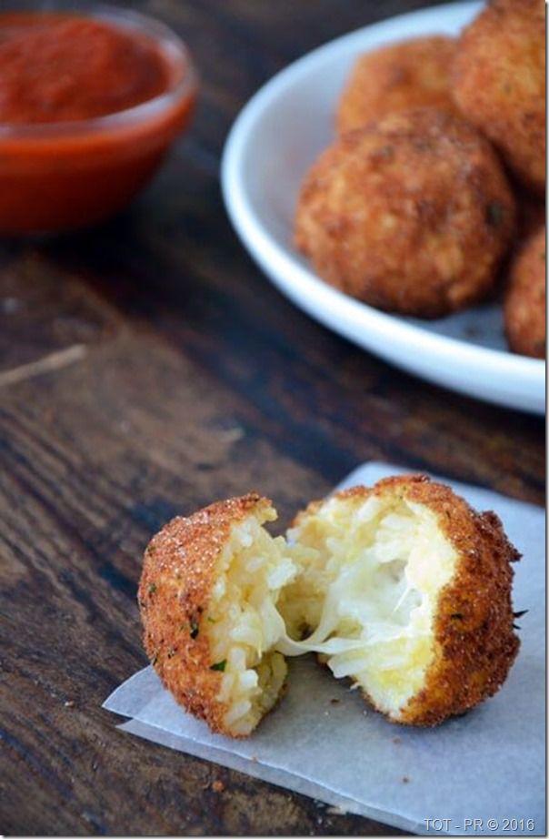 Italiaanse bitterballen. (via Bloglovin.com )