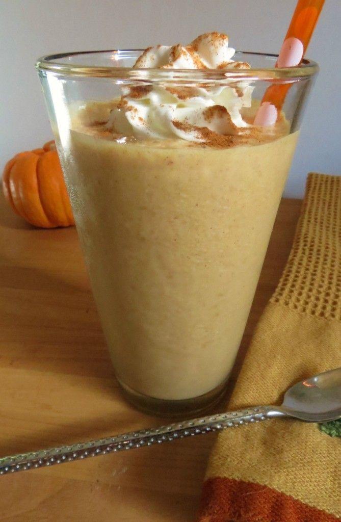 Pumpkin Smoothie | peanutbutterandpeppers.com
