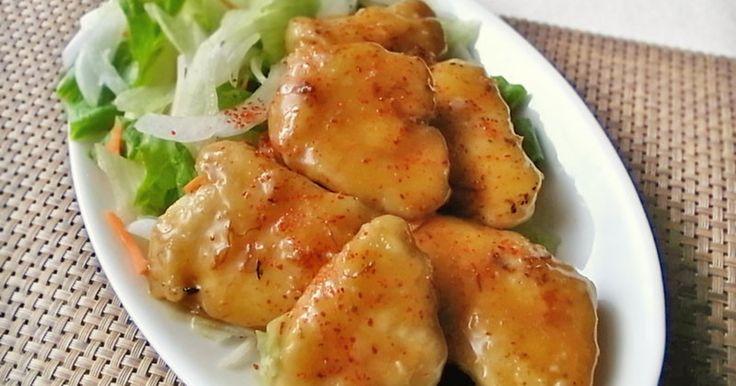 ★1000レポ感謝★デパ地下の「かきのオイマヨ」のソースが美味しくって鶏胸肉で作ってみました。コッテリ、濃くって旨~!