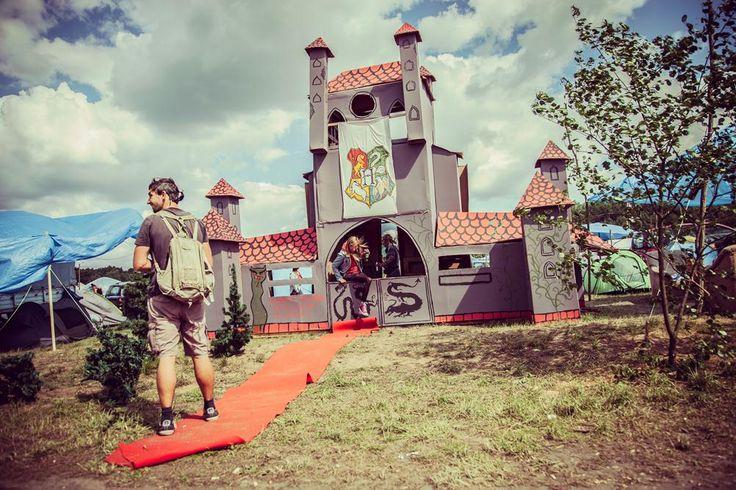Zamek na Woodstocku też jest