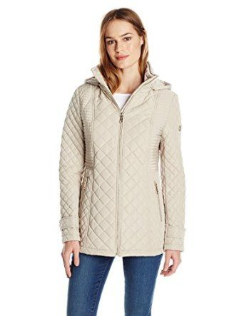 Calvin Klein Women's Quilted Jacket with Hood from $20.99 by Amazon BESTSELLERS