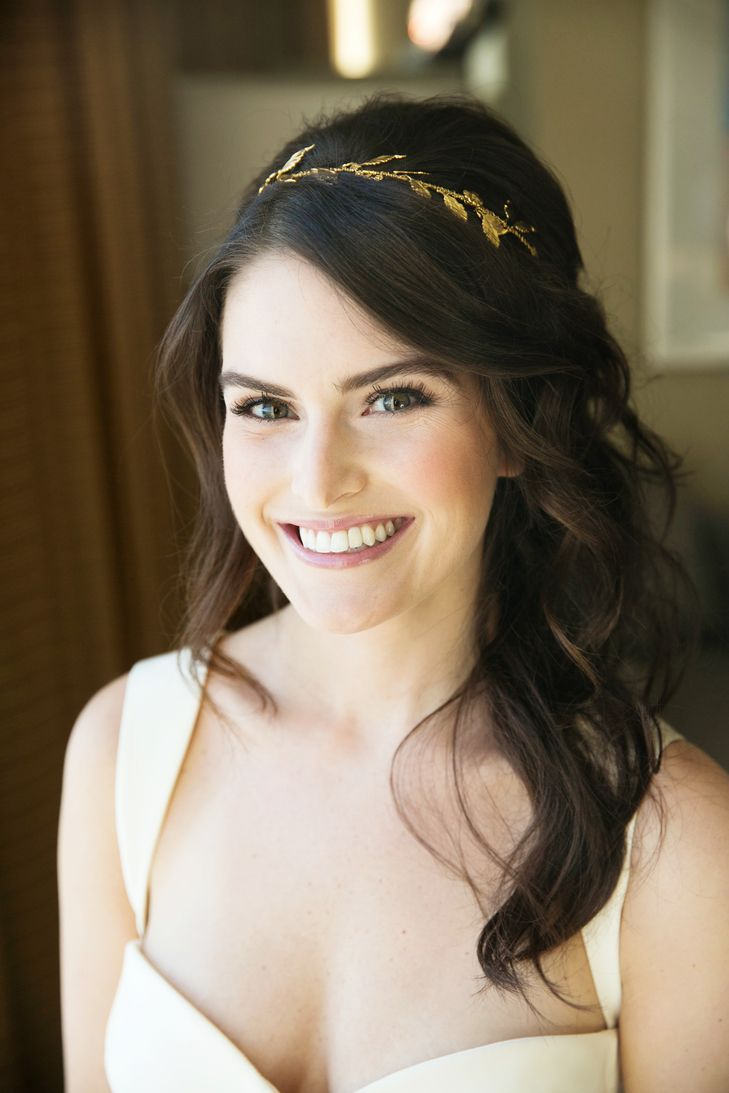Best 25+ Gold leaf headband ideas on Pinterest | Low updo ...