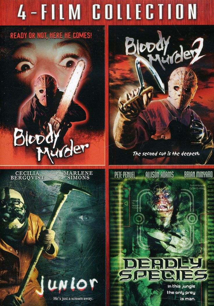Blood Murder/Blood Murder 2/Junior/Deadly Species