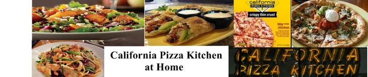 California Pizza Kitchen Copycat Recipes