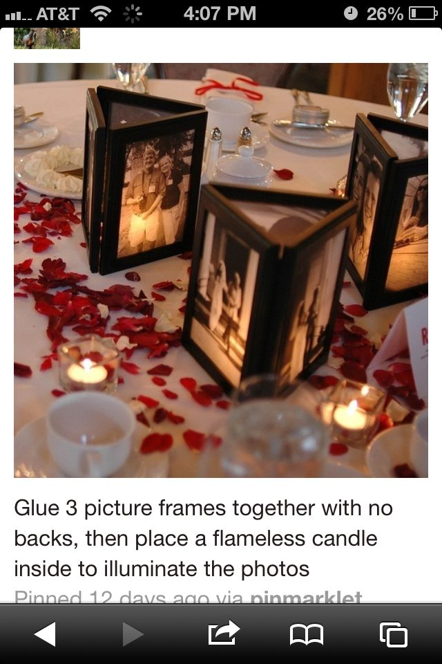 Photo centerpiece here's the info for it