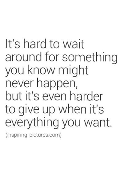 Waiting can be hard. Time to decide what you want to do – Sheldon Penner