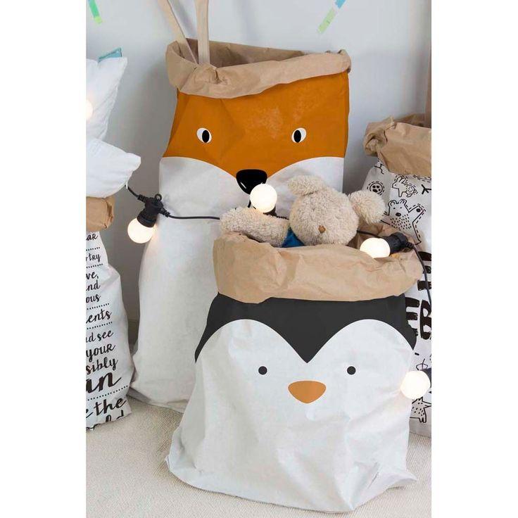 Papierowa torebka Little Nice Things Penguin