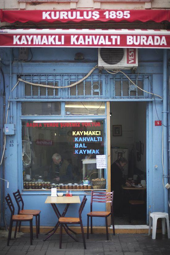 breakfast in istanbul, besiktas.