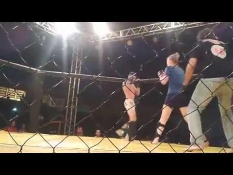 R12 Noticias: Brasil,MMA Mulher nocauteia homem em menos de um minuto:veja o vídeo