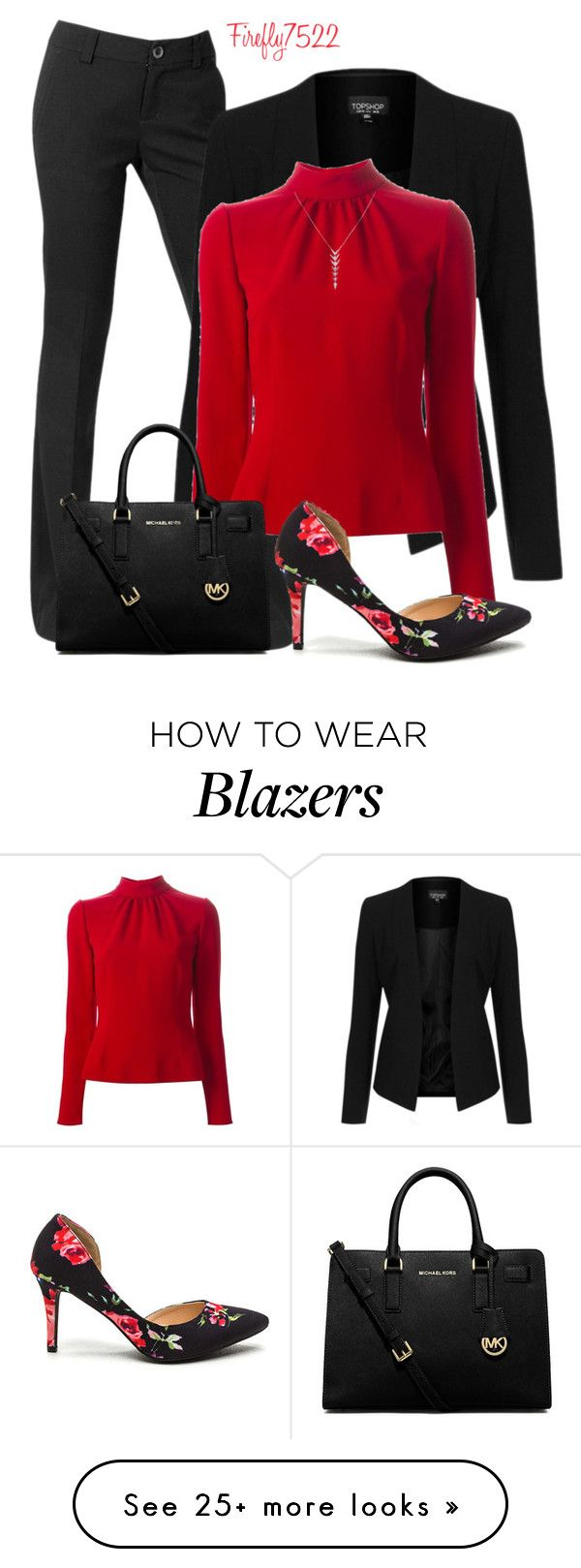 """""""Fab For Work"""" by firefly7522 on Polyvore featuring Topshop, Dolce&Gabbana and MICHAEL Michael Kors"""