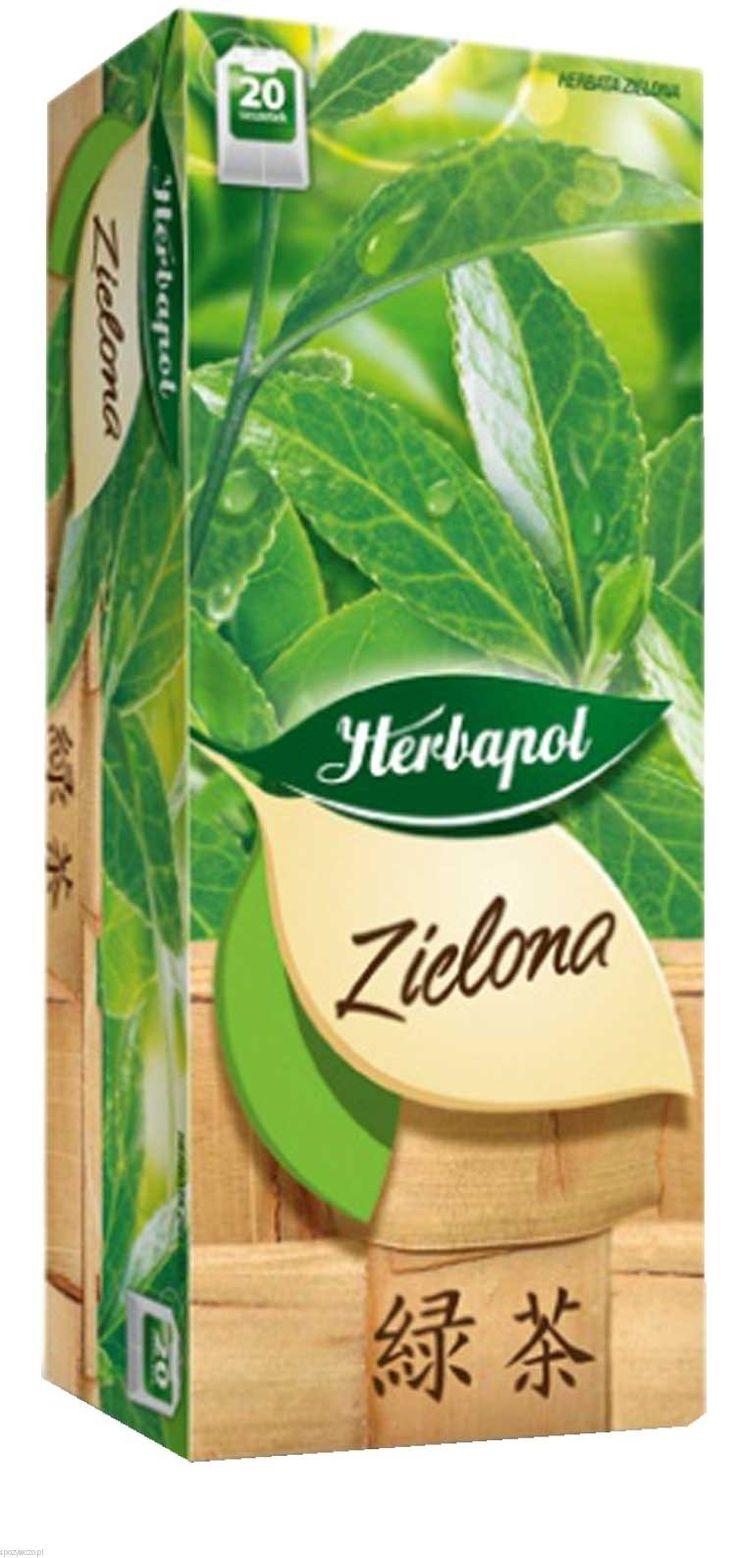 Herbata HERBAPOL Zielona exp.20tb opak.9 | spozywczo.pl Zielona herbata do kupienia na: http://www.spozywczo.pl/hurtownia-kawy-herbaty
