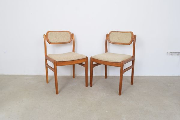 Dining Chairs By Johannes Andersen For Uldum Mobelfabrik 1960s