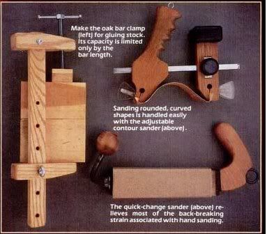 shop made woodworking tools