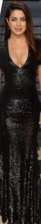Priyanka Chopra 2017 Vanity Fair Oscar Party