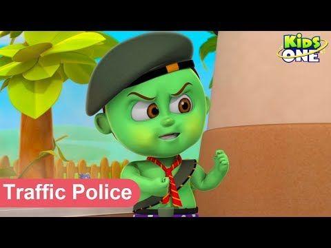 kids Rhymes: Baby Hulk Traffic Police Baby Hulk Fined Who Break...