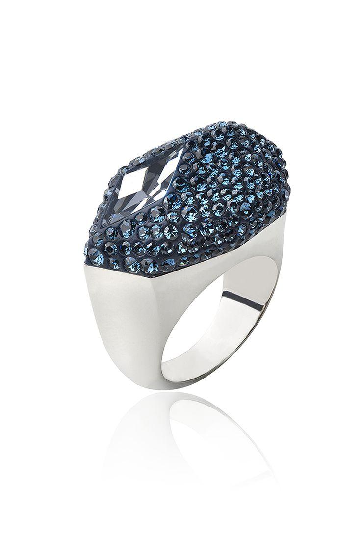 Кольцо Moselle, вручную инкрустированное кристаллами Swarovski