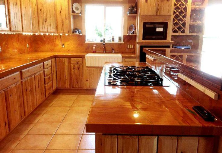 Pin by Janell C on kitchen  Diy countertops Home Epoxy
