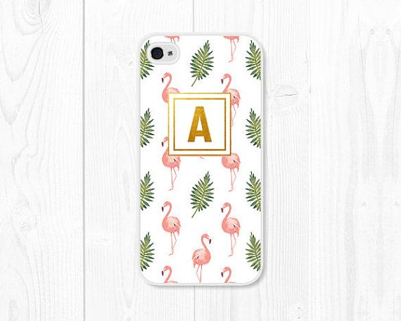 Flamingo iPhone Case Sizes Available: iPhone 4 / 4s iPhone 5 / 5s iPhone 5c iPhone 6 iPhone 6s iPhone 6 Plus iPhone 6s Plus iPhone SE iPhone 7 Samsung Galaxy S3 Samsung Galaxy S4 Samsung Galaxy S5 Samsung Galaxy S6 Samsung Galaxy S7 Choose your monogram letter from the dropdown menu on