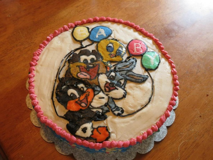 Baby Looney Tunes Cake Ideas