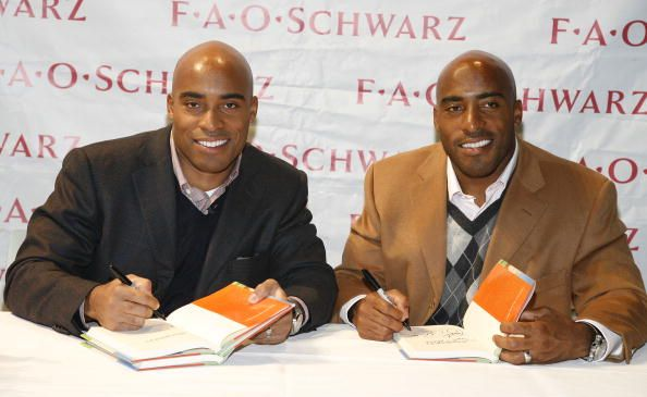 Ronde and Tiki Barber__April 7. 1975__Suns in Aries, Moons in Aquarius