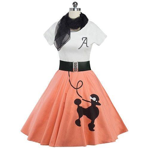 Dmart7deal; Animal Print High Waist Dress rockabilly Short Sleeve Audrey Hepburn Vestido Belt Scarf