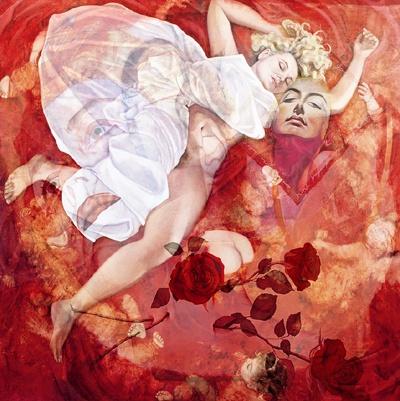 """Dream Scheme"", c.2007, digital print, Annette Bezor"