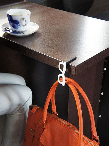 Sceltevie Bag Hanger/phone stand - finally available! $30 + $14 shipping from Japan (!!)