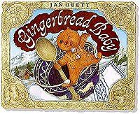free pdf downloads of masks to use in storytelling with the Gingerbread Baby by Jan Brett