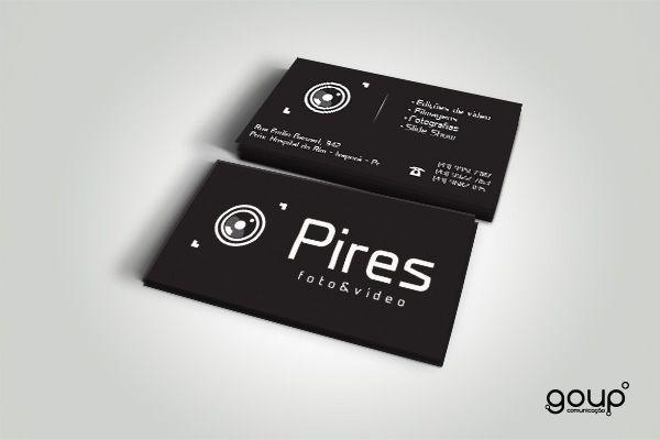 Cartão de visita - Pires foto/video.