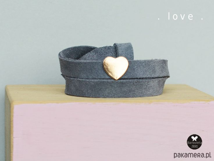 bransoletki - inne-grey love
